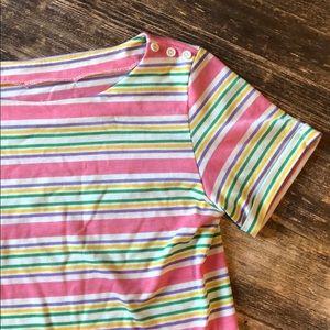 Vintage 80s pastel stripes